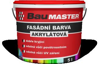 Akrylátová fasádní barva