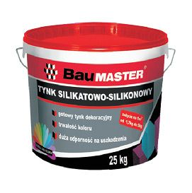 Silicate and silicone plaster